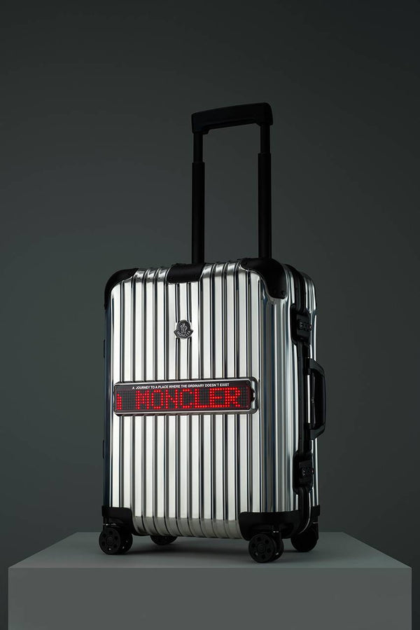 "Moncler and RIMOWA Create ""REFLECTION"" Luggage"