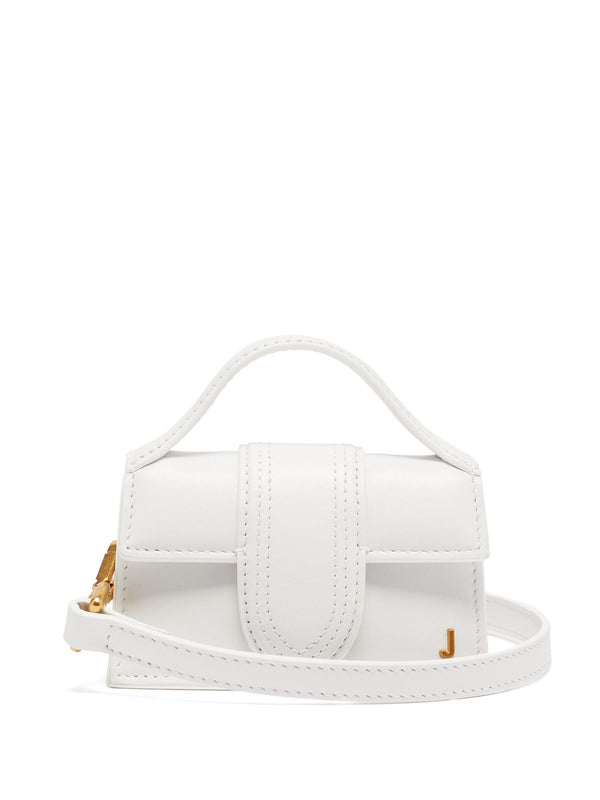 Jacquemus Le Bambino Leather Bag - White