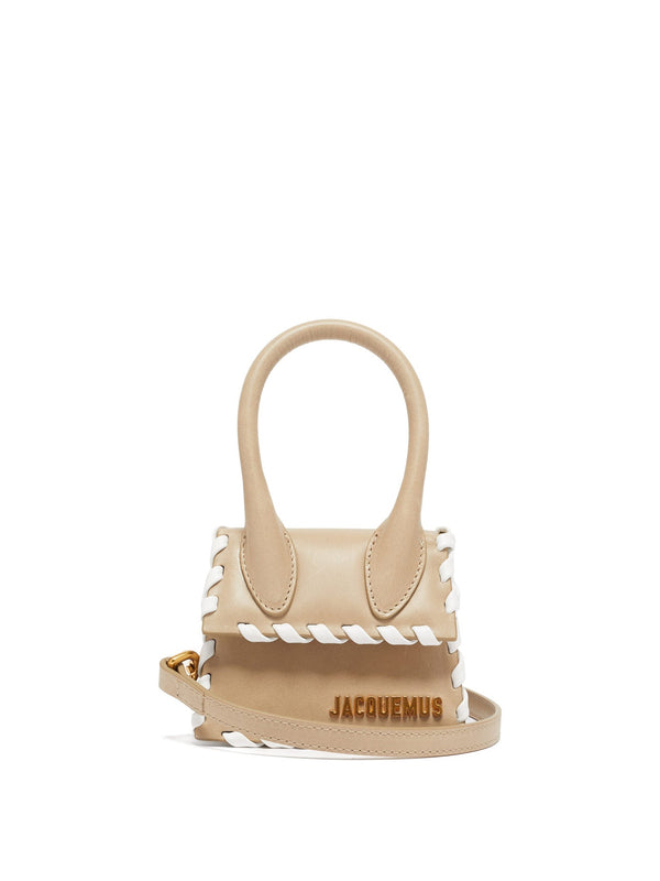 Jacquemus Le Chiquito Leather Whipstitched Bag