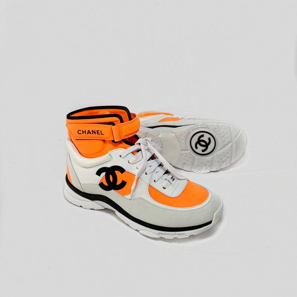 CC Logo High Top Sneaker