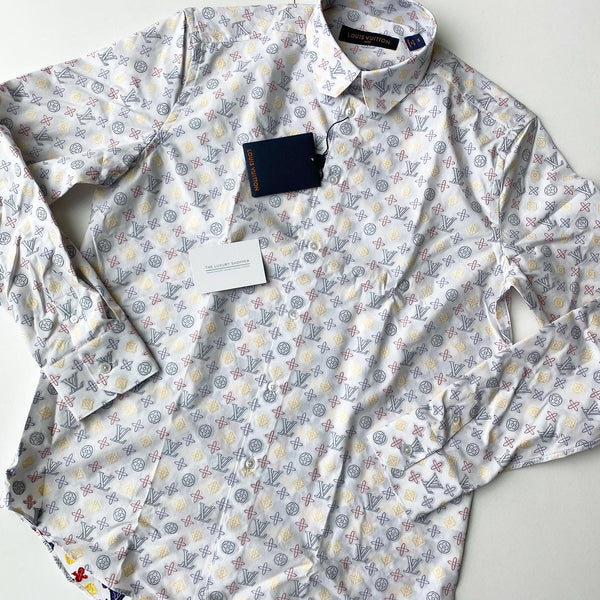 Louis Vuitton Regular Shirt With DNA Collar