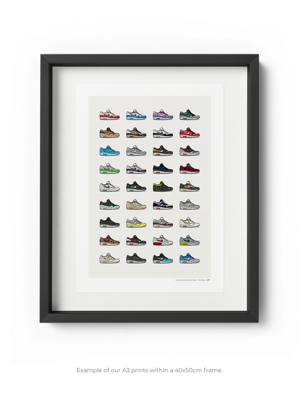 Ultimate Air Max 1 Collection Print