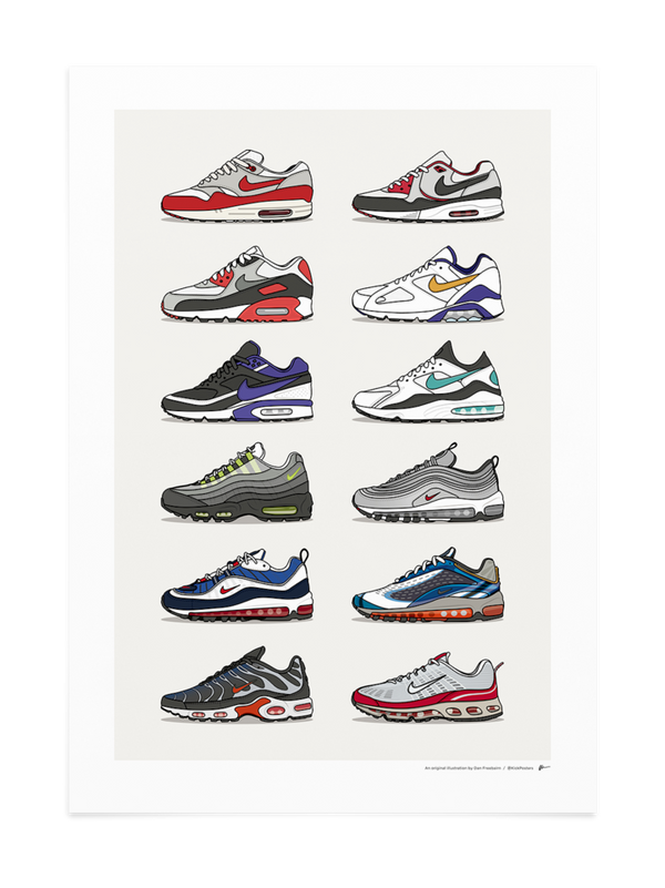 Air Max Icons Collection Print
