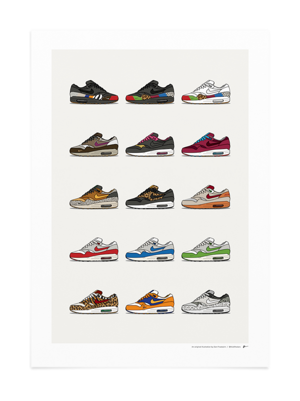 Air Max 1 Master Collection Print