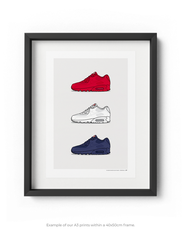 Air Max 90 Independence Day Pack Print