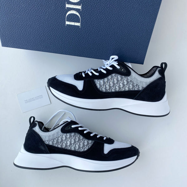 Dior B25 Oblique Runner Sneakers