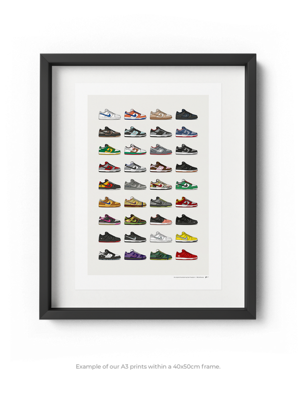 Nike Dunk Low Collection Print