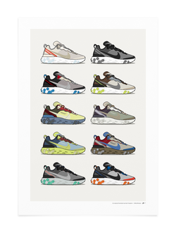 Element React Collection Print