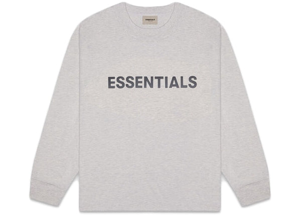 Fear Of God ESSENTIALS Long Sleeve T-Shirt Heather Oat