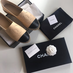 Chanel Leather Espadrille