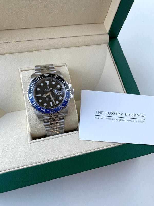 GMT-Master II 126710BLNR 'Batman'