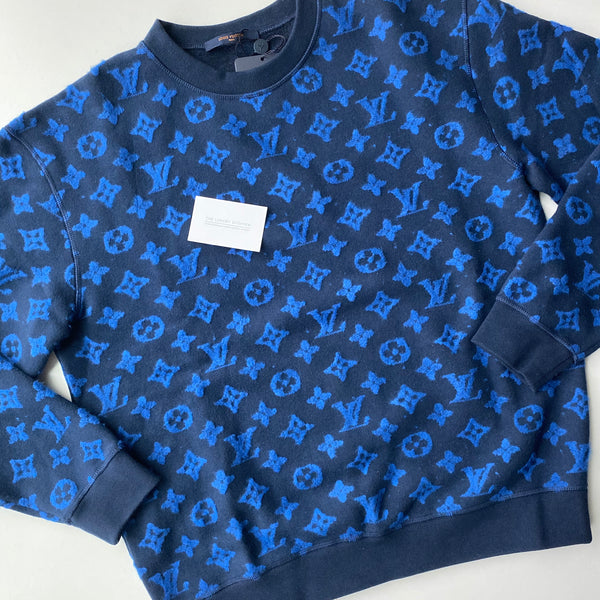 Louis Vuitton Full Monogram Jacquard Crew Neck