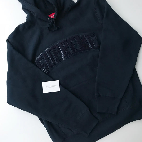 Arc Logo Hooded Sweatshirt