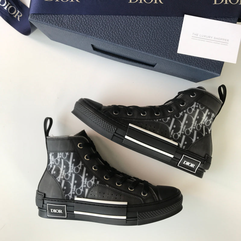 Dior B23 Oblique High Top Sneakers