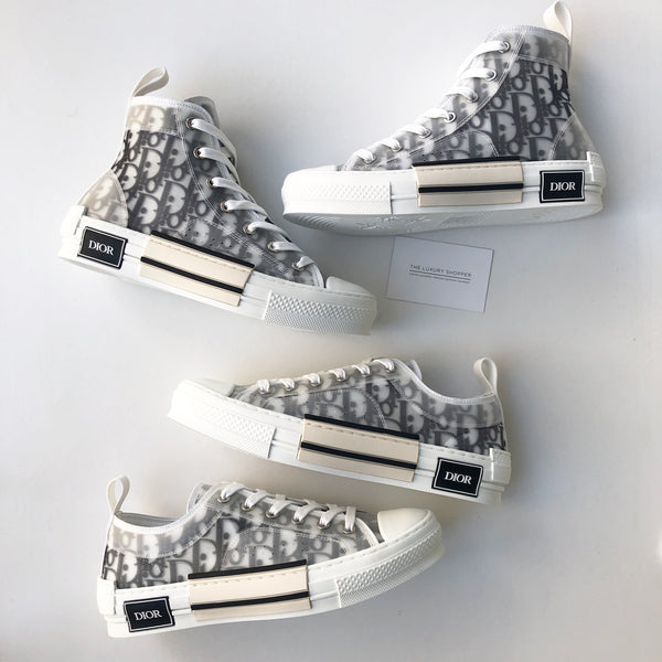Dior B23 Oblique Low Top Sneakers