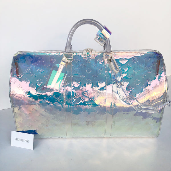 Louis Vuitton Prism Keepall Bandouliere 50