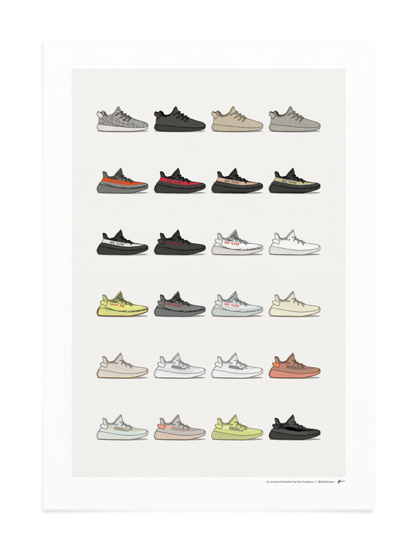 Yeezy 350 Collection Print
