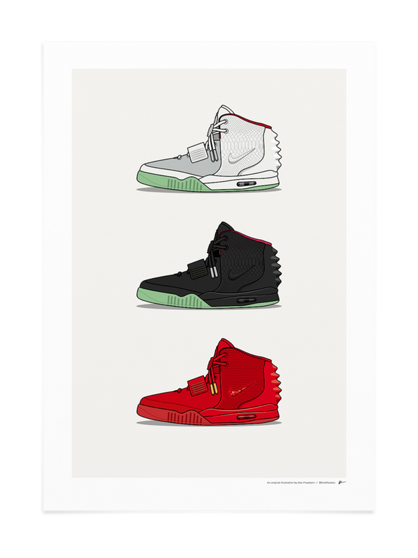Triple Air Yeezy 2 Print