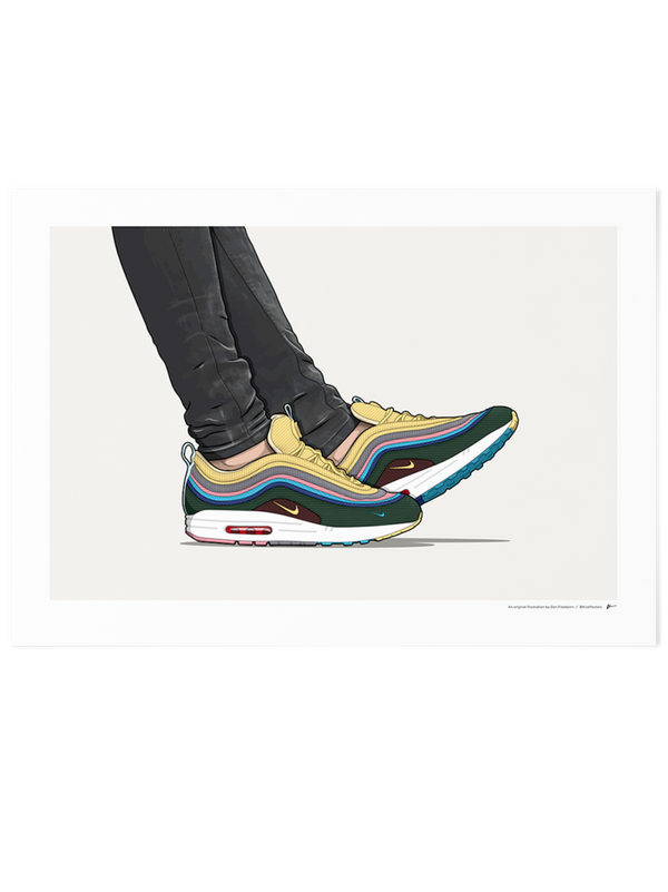 Sean Wotherspoon 1/97 On-Foot Limited Edition Print