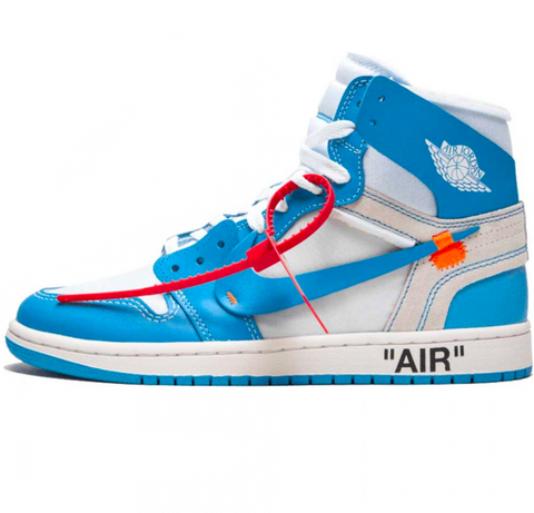 Off-White x Air Jordan 1 'UNC'