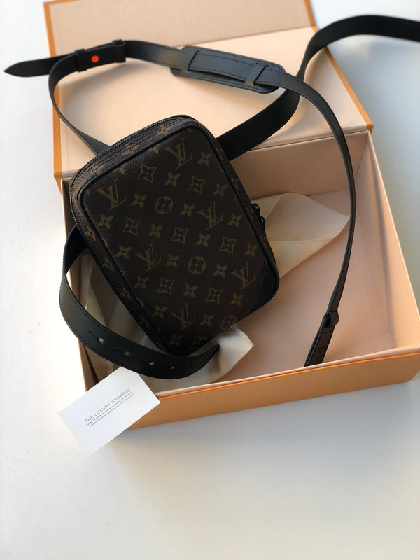 Louis Vuitton Side Utility Bag Monogram SS19
