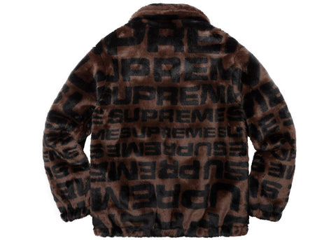 low priced 334a0 b6ef3 ... Faux Fur Repeater Bomber  Supreme ...