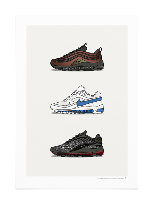 Triple Skepta Air Max Print