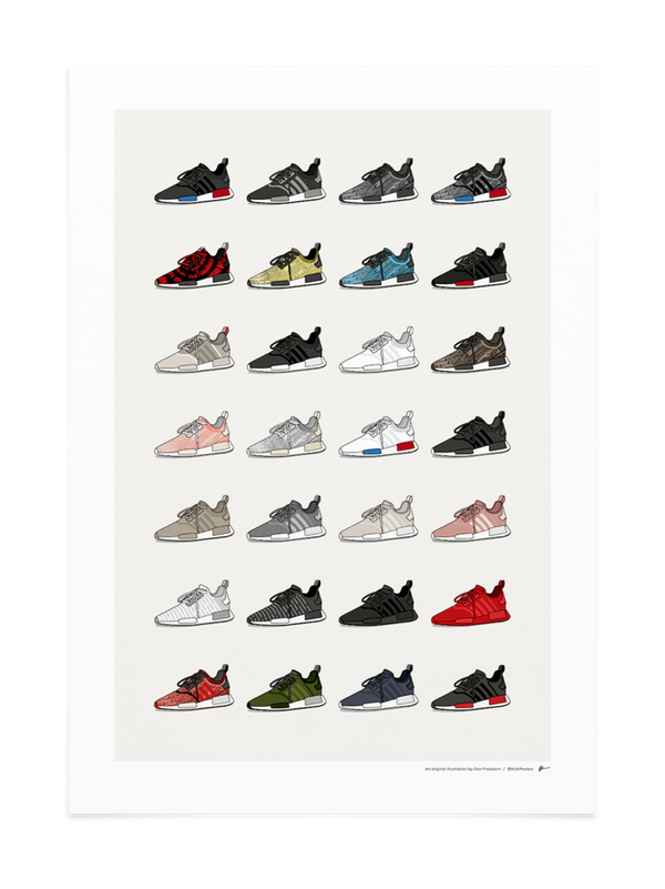 Ultimate NMD R1 Collection Print