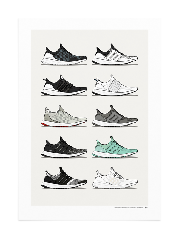 Ultra Boost Collab Collection Print