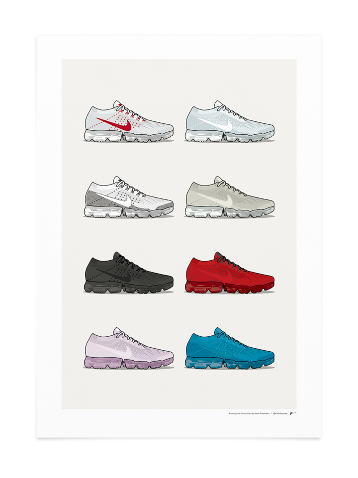 Vapormax Collection Print