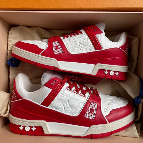 Louis Vuitton LV Trainers (Red)