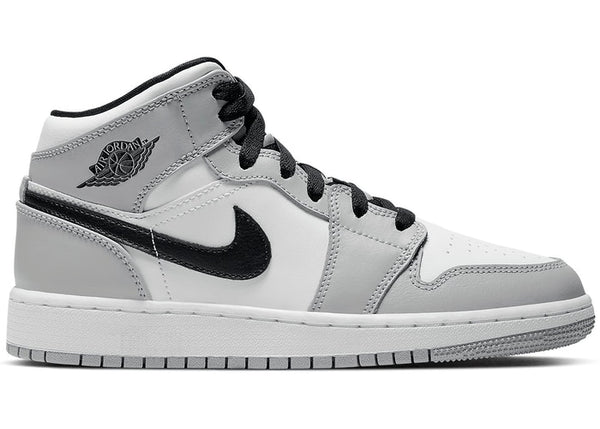 Air Jordan 1 Mid Smoke Grey (GS)