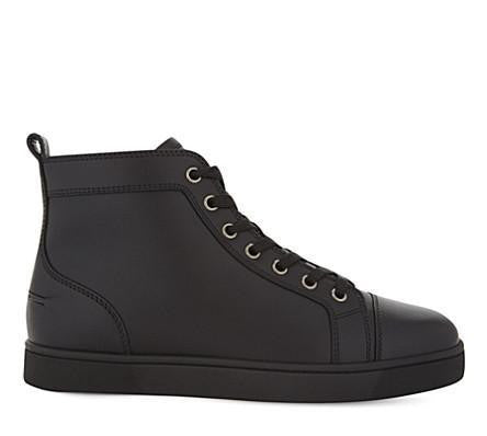 Louis Flat Leather
