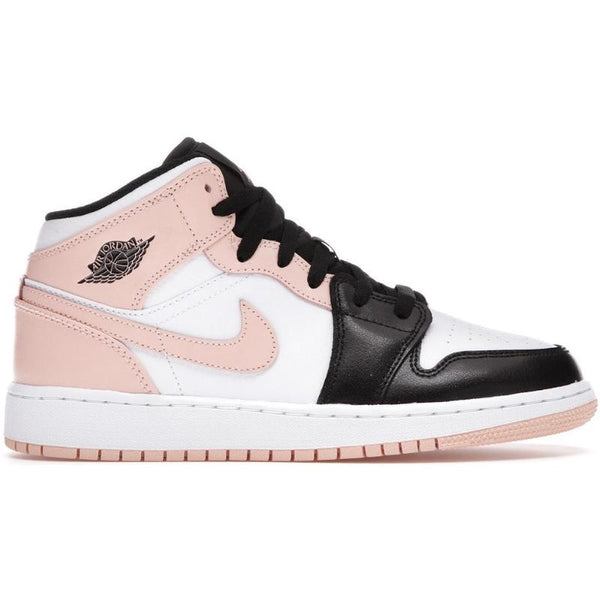 Nike Air Jordan 1 Mid Crimson Tint Toe (GS)