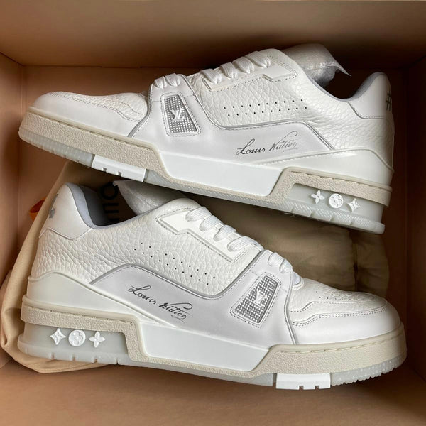Louis Vuitton LV Trainers (White)
