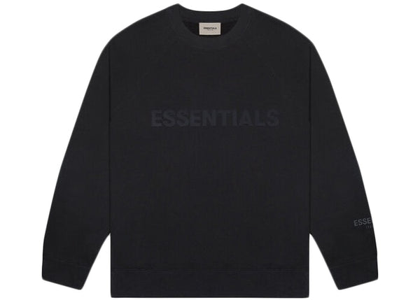 Fear Of God ESSENTIALS Crew Neck Black