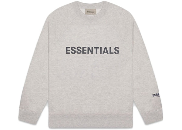 Fear Of God ESSENTIALS Crew Neck Heather Oat
