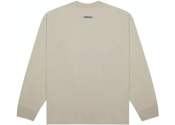Fear Of God ESSENTIALS Long Sleeve T-Shirt String / Tan