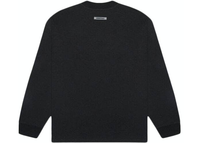 Fear Of God ESSENTIALS Long Sleeve T-Shirt Black
