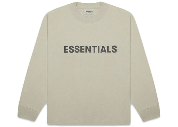 Fear Of God ESSENTIALS Long Sleeve T-Shirt Moss