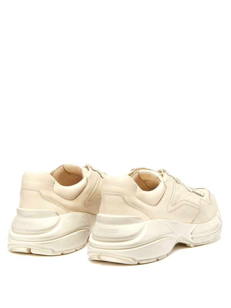 Rhyton Distressed Chunky Sneakers