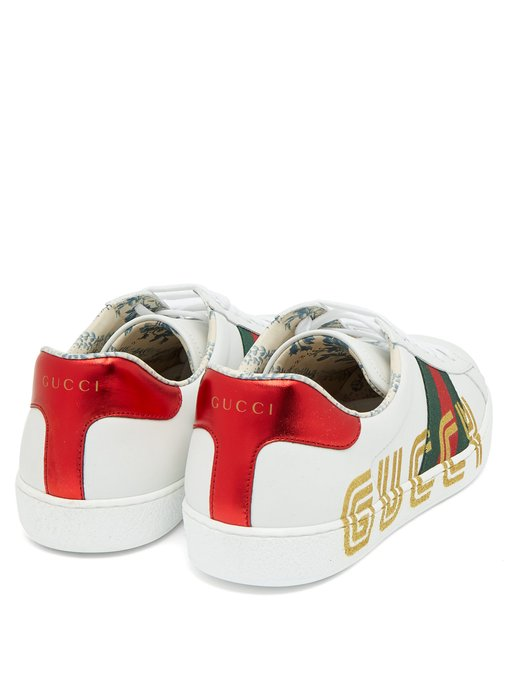 New Ace Glitter Sneakers