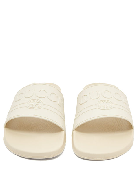 Rubber Logo Slides