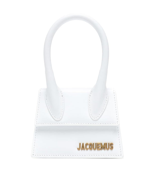 Jacquemus Le Chiquito Leather Bag - White