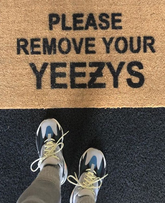 Please Remove Your YeeƵy's Doormat