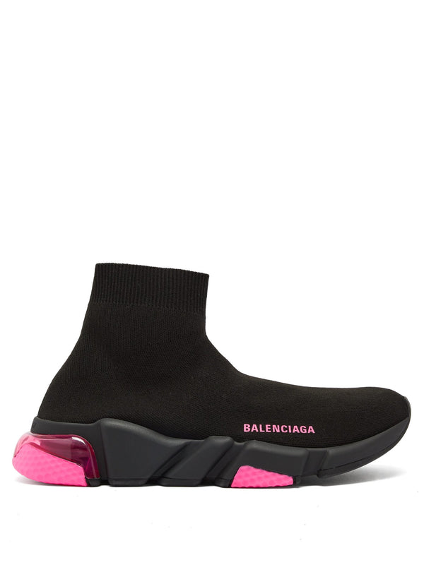 Balenciaga Speed 2.0 Bubble-Heel - Black Pink