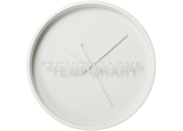 "MARKERAD ""Temporary"" Clock"