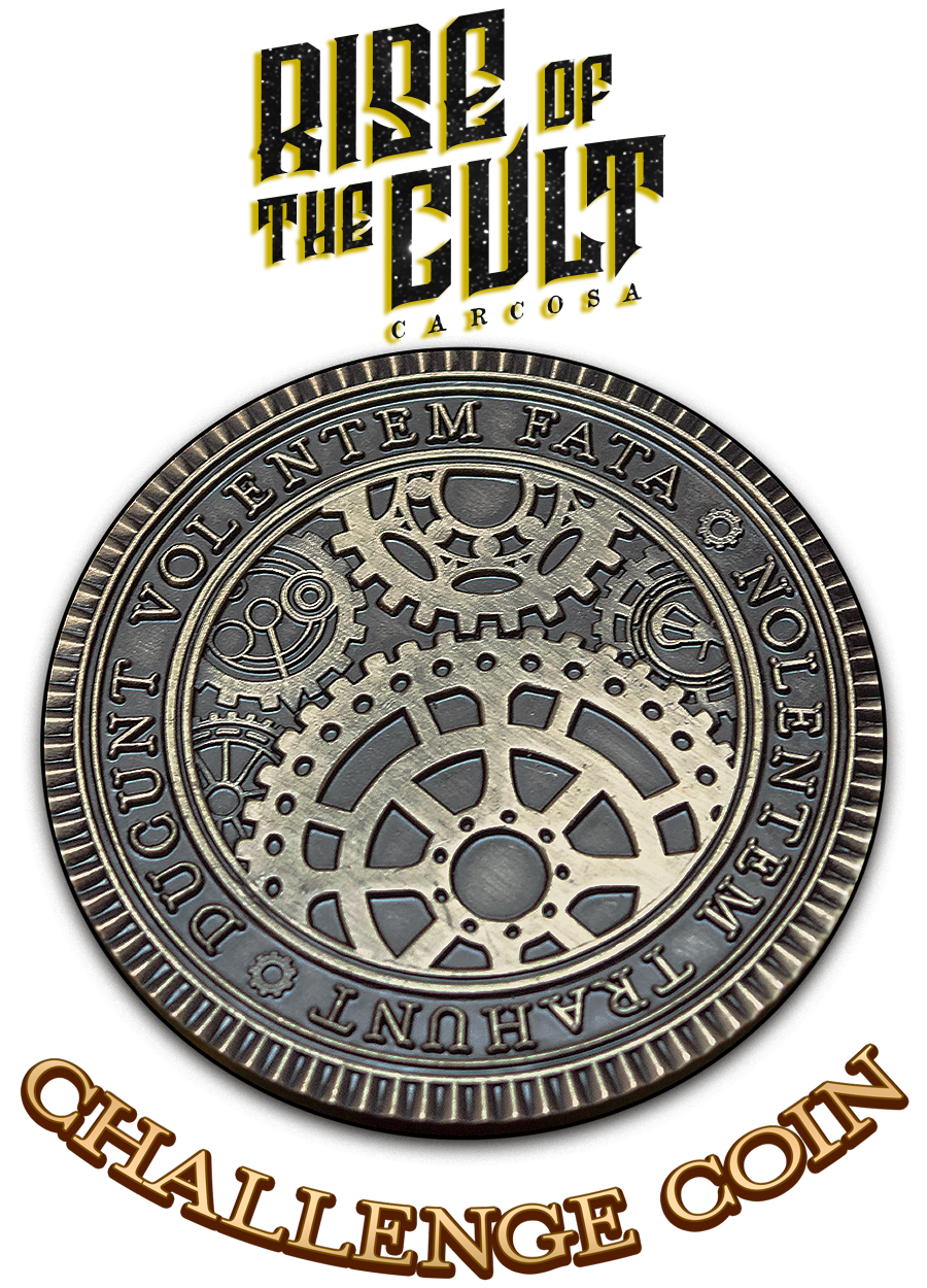 Challenge Coin - CARCOSA: Rise of the Cult