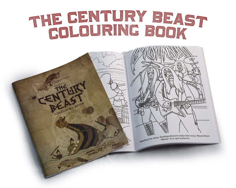 The Century Beast Colouring Book