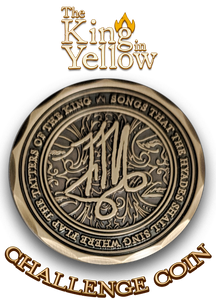 Challenge Coin - The King in Yellow